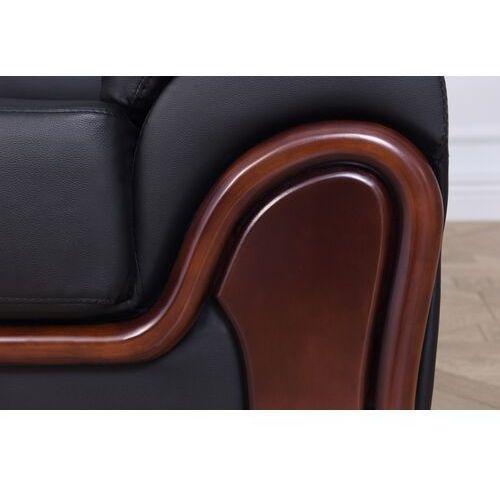 Sofy, Sofa 3-osobowa PALLADIO czarny