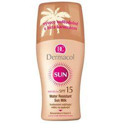 Dermacol Sun Milk Spray SPF15 preparat do opalania ciała 200 ml dla kobiet
