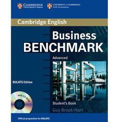 Business Benchmark Advanced BULATS Edition Książka Ucznia Plus CD-ROM (opr. miękka)