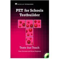 Książki do nauki języka, PET for Schools Testbuilder Student's Book with key & CD Pack (opr. miękka)