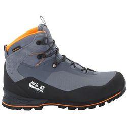 Męskie buty w góry WILDERNESS LITE TEXAPORE MID M pebble grey / black - 10