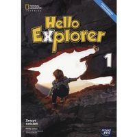 Książki do nauki języka, Hello Explorer 1 Zeszyt ćwiczeń - James Philip, Sikora-Banasik Dorota, Mrozik Marta (opr. miękka)