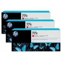 HP oryginalny ink B6Y32A, No.771C, chromatic red, 3szt, HP Designjet Z6200