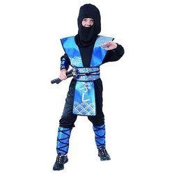 Kostium Ninja niebieski - S - 110/120 cm