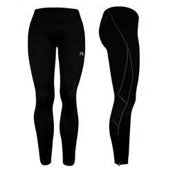 Damskie długie spodnie kompresyjne Newline Base Dry N Comfort Tights, S