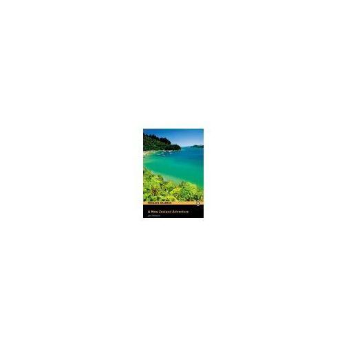 Książki do nauki języka, A New Zealand Adventure plus Audio CD Penguin Readers Original (opr. miękka)