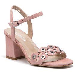 Sandały ANN MEX - 0188 02W Róż