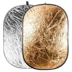 Quantuum Blenda 91x122 cm złoto srebrna