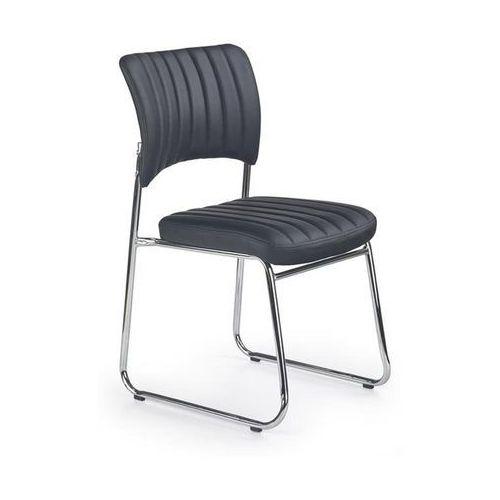 Fotele i krzesła biurowe, Krzesło Rapid kolor czarny