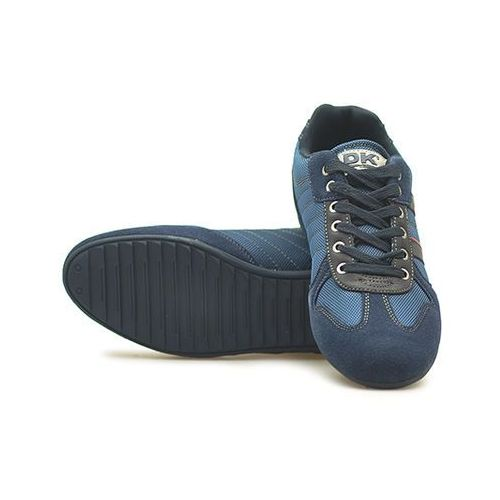 Męskie obuwie sportowe, Sneakersy DK 5001 Granatowe