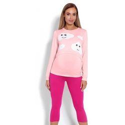 Piżama Damska Ciążowa Model 1679 Pink - PeeKaBoo