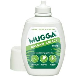 Mugga balsam po ukąszeniach komarów, poparzeniach od meduz i roślin.