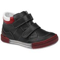 Półbuty i trzewiki dziecięce, Trzewiki nieocieplane buty KORNECKI 4666 Czarne - Czarny ||Multikolor ||Czerwony