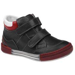 Trzewiki nieocieplane buty KORNECKI 4666 Czarne - Czarny ||Multikolor ||Czerwony