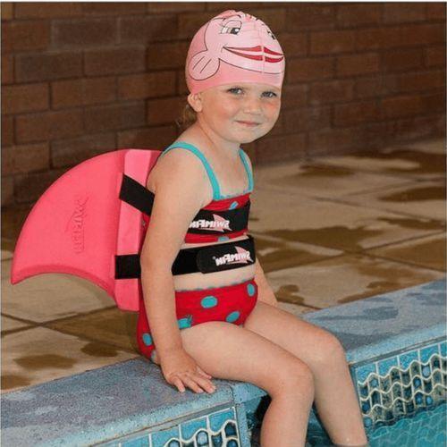 Okularki pływackie, Okulary czepek płetwa do nauki pływania dla dzieci