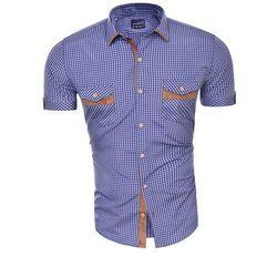 Wyprzedaż koszula z krótkim rękawem (TLT11) - INDIGO