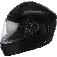 Kaski motocyklowe, Kask szczękowy Airoh Rides Czarny Połysk
