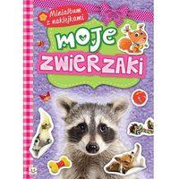 Książki dla dzieci, Minialbum z naklejkami - Moje zwierzaki + zakładka do książki GRATIS (opr. broszurowa)