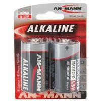 Baterie, Bateria ANSMANN Red LR20/Mono D (2 szt.)