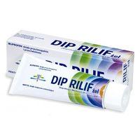 Żele i maści przeciwbólowe, Dip Rilif żel (0,05g+0,03g)/g 30 g (tuba)