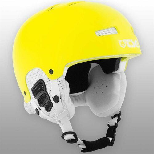 Kaski i gogle, kask dla dzieci TSG - Gravity Youth Solid Color Gloss Neon Yellow (240) rozmiar: XXS/XS