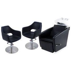 Zestaw Mebli Fryzjerskich - Myjnia Vasto + 2 x Fotele Segni