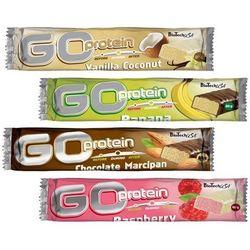 Baton wysokobiałkowy BioTechUSA Go Protein Bar 80g, Smaki: Czekolada orzech Najlepszy produkt Najlepszy produkt tylko u nas!