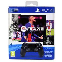 SONY DUALSHOCK 4 V2 KONTROLER + FIFA 21 KOD / WYSYŁKA GRATIS / RATY 0% / TEL. 500 005 235