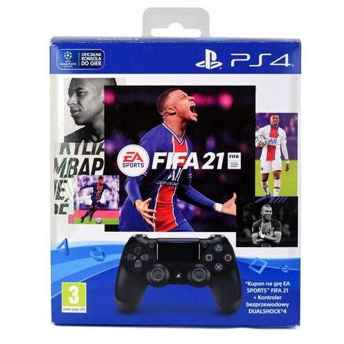 Gamepady, KONTROLER SONY DUALSHOCK 4 V2 + FIFA 21 KOD / WYSYŁKA GRATIS / RATY 0% / TEL. 500 005 235