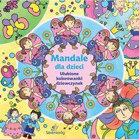 Kolorowanki, Mandale dla dzieci. Ulubione kolorowanki dziewczynek - Siedmioróg