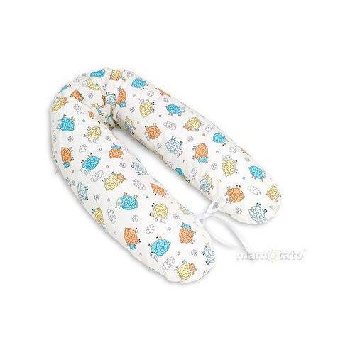 Kosmetyki dla kobiet w ciąży, MAMO-TATO Poduszka dla ciężarnych kobiet Szalone owieczki kremowe
