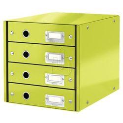 Pojemnik Leitz Click&Store z 4 szufladami zielony 60490064