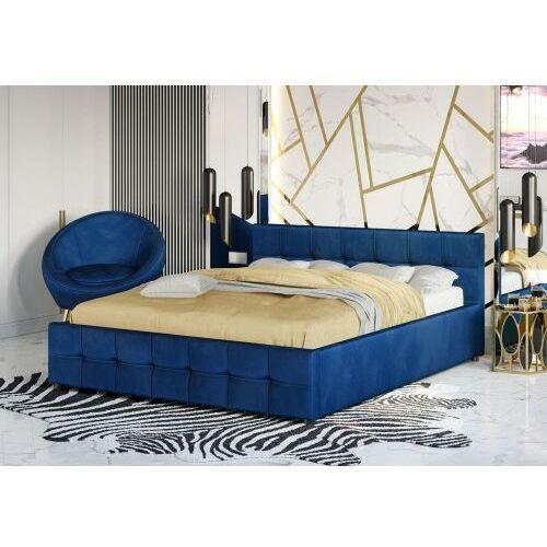 Łóżka, ŁÓŻKO TAPICEROWANE DO SYPIALNI 160X200 1294G BEŻ