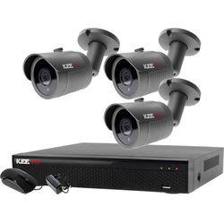 Monitoring zestaw do domu placu Rejestrator 5W1 LV-XVR44N-II + 3x Kamera LV-AL30HT