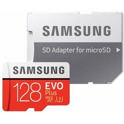 Karta pamięci SAMSUNG EVO Plus 128GB MicroSD MB-MC128HA/EU + adapter