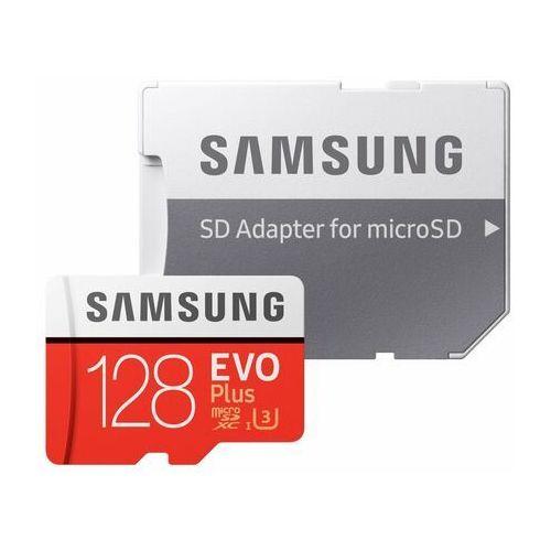 Karty pamięci, Karta pamięci SAMSUNG EVO Plus 128GB MicroSD MB-MC128HA/EU + adapter