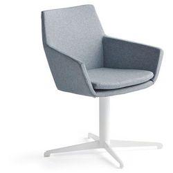 Krzesło konferencyjne FAIRVIEW, biały, niebieskoszary