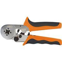 Pozostałe narzędzia ręczne, Zaciskarka końcówek tulejkowych 170 mm, średnica tulejek O 2 - 3.2 mm, 4 szczęki,