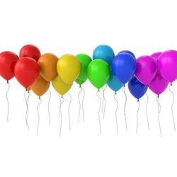 Balony lateksowe pastelowe mix kolorów - średnie - 25 szt.