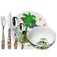Sztućce dla dzieci, WMF Sztućce i naczynia dla dzieci KSIĘGA DŻUNGLI zestaw 6 sztuk