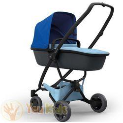 Od YouKids ZAPP FLEX PLUS 2w1 Quinny gondola LUX wózek głęboko-spacerowy blue on sky + sky on graphite