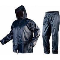 Kurtki i kamizelki ochronne, Komplet przeciwdeszczowy kurtka z kapturem i spodnie rozmiar M 81-800-M