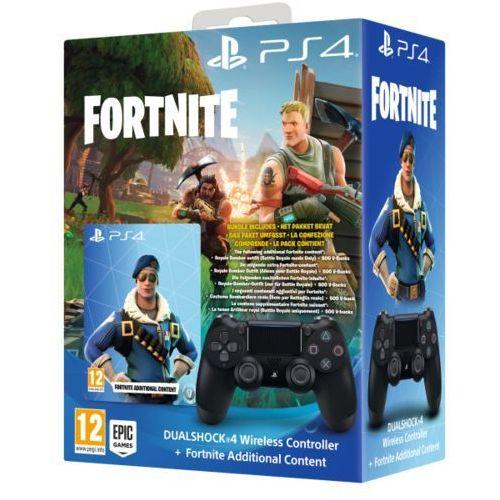 Gamepady, SONY PS4 DualShock 4 v2 + Fortnite 500 V Bucks