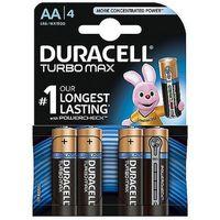 Baterie, Baterie alkaliczne Duracell Turbo AA LR6 1,5V, 4 + 2szt.