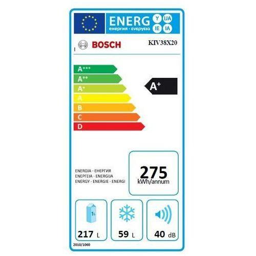 Lodówki i chłodziarki, Bosch KIV38X20