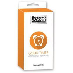 Prezerwatywy przedłużające stosunek Secura Good Timer 24 szt., Kolor: Przezroczysty