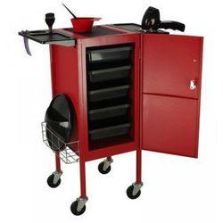 GABBIANO Pomocnik Fryzjerski Deluxe 500 Czerwony