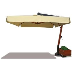 Parasol ogrodowy Riviera Wood 300cm x 400cm made in Italy