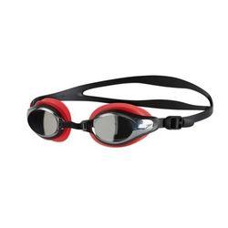 speedo Mariner Supreme Mirror Okulary pływackie czerwony/czarny 2018 Okulary do pływania