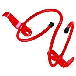 Koszyk na bidon ACCENT Spring, aluminiowy, czerwony